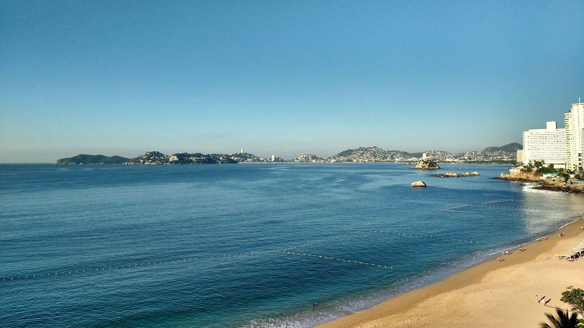 Una playa de Acapulco, referencial - Sputnik Mundo, 1920, 11.10.2021