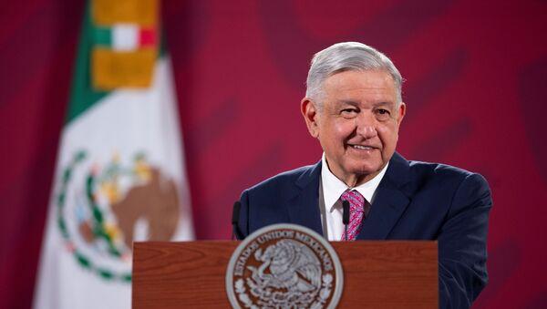 El presidente de México, Andrés Manuel López Obrador - Sputnik Mundo