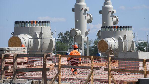 La construcción del gasoducto Nord Stream 2 - Sputnik Mundo