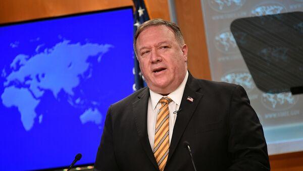 Mike Pompeo, el secretario de Estado de EEUU  - Sputnik Mundo