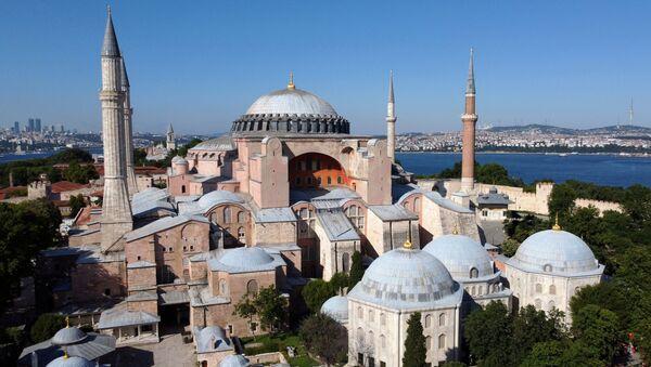 La catedral de Santa Sofía en Estambul, Turquía - Sputnik Mundo