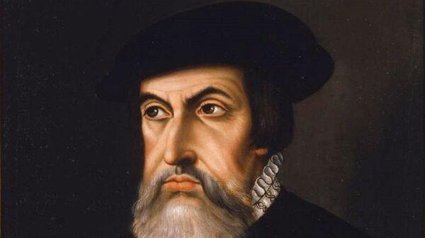Retrato del conquistador español Hernán Cortés - Sputnik Mundo