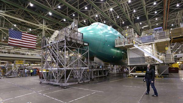 La fabricación del Boeing 747 - Sputnik Mundo