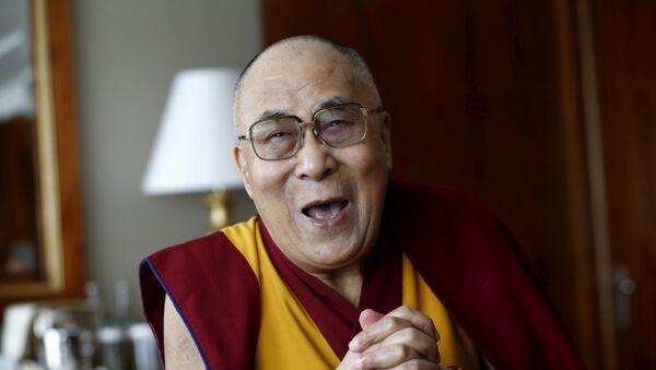 Tenzin Gyatso, el XIV dalái lama, líder espiritual del budismo tibetano - Sputnik Mundo