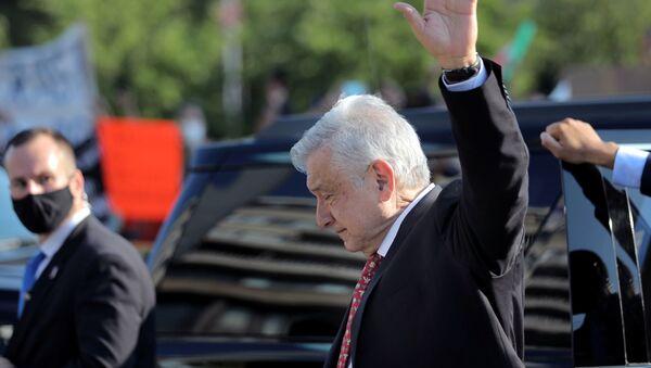 AMLO, presidente de México - Sputnik Mundo