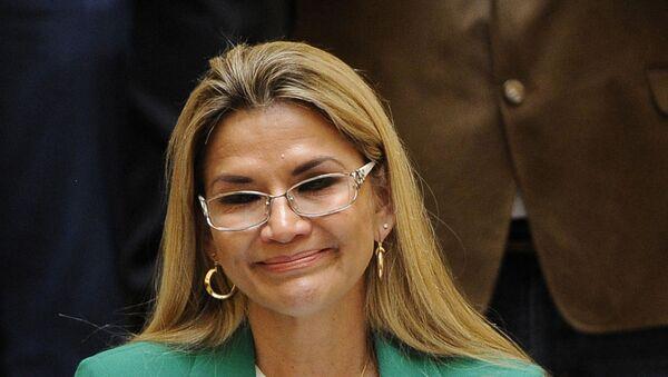 Jeanine Áñez, presidenta de Bolivia - Sputnik Mundo