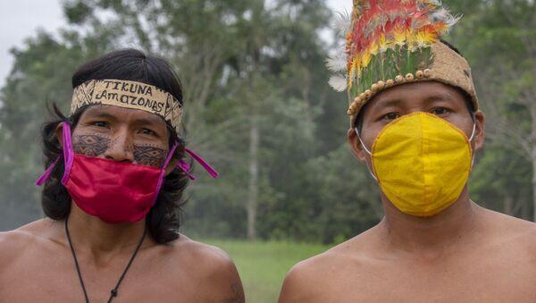 Indígenas colombianos Tikuna  - Sputnik Mundo