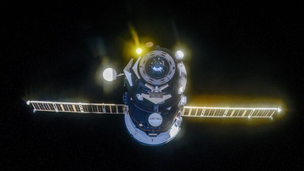 El carguero espacial ruso Progress MS-13 - Sputnik Mundo