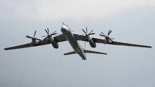 El bombardero estratégico ruso Tu-95 MS - Sputnik Mundo