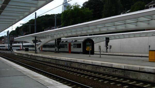 Estación de trenes en Bélgica - Sputnik Mundo