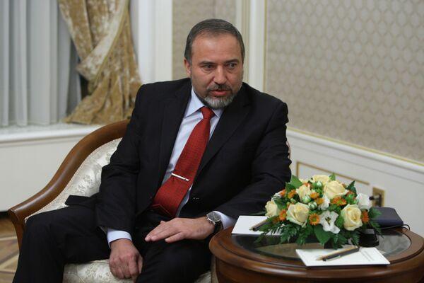 Avigdor Lieberman - Sputnik Mundo