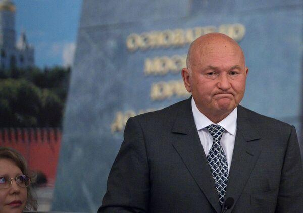 Yuri Luzhkov - Sputnik Mundo
