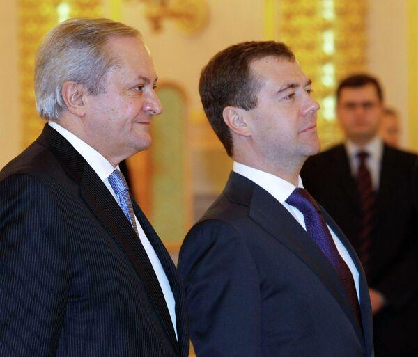 El jefe de la Delegación de la Unión Europea (UE) en Rusia, Fernando Valenzuela - Sputnik Mundo