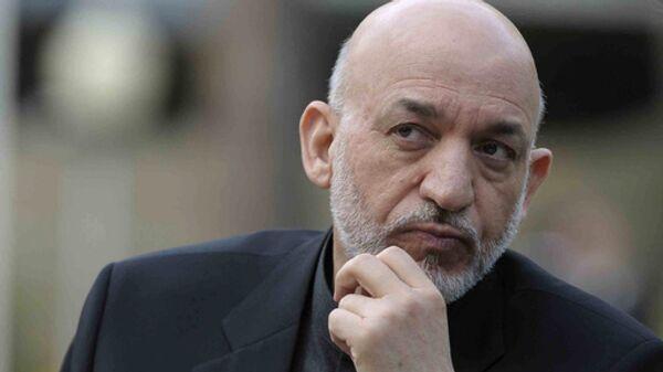 Khamid Karzai - Sputnik Mundo