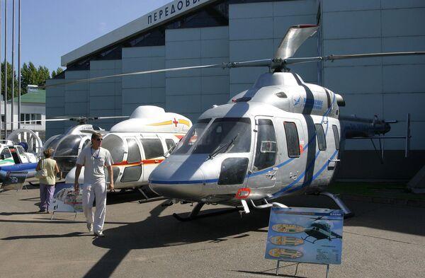 El helicóptero polivalente de clase ligera Ansat - Sputnik Mundo
