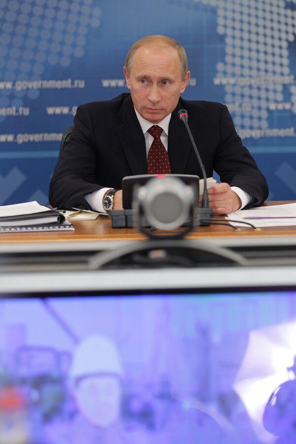 El jefe del Gobierno, Vladímir Putin - Sputnik Mundo