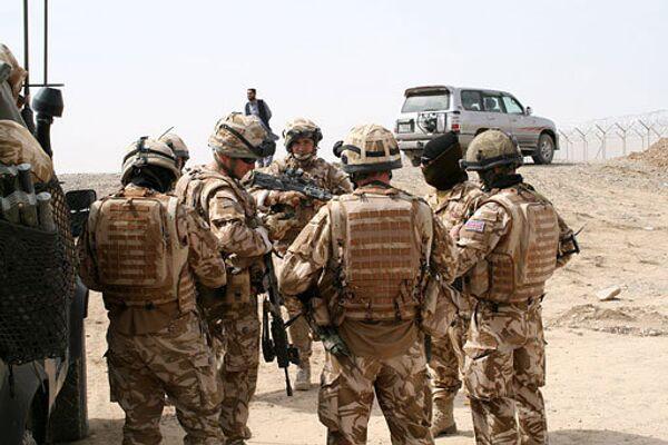 Militares de la Fuerza Internacional de Asistencia a la Seguridad en Afganistán (ISAF) - Sputnik Mundo