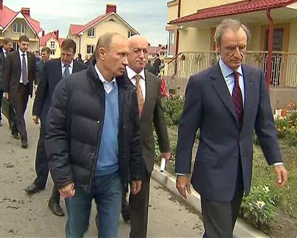 Putin muestra a delegación del COI instalaciones olímpicas de Sochi - Sputnik Mundo