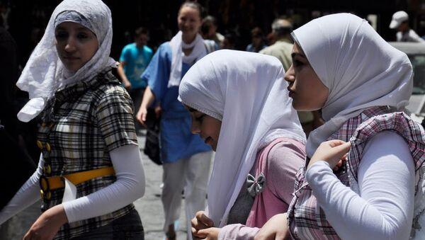 Мусульманские женщины - Sputnik Mundo