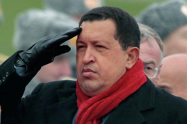 Hugo Chávez en visita oficial a Rusia - Sputnik Mundo