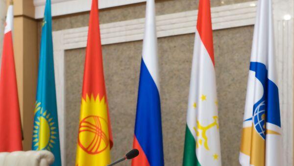 Banderas de países de  la Unión Económica Euroasiática - Sputnik Mundo