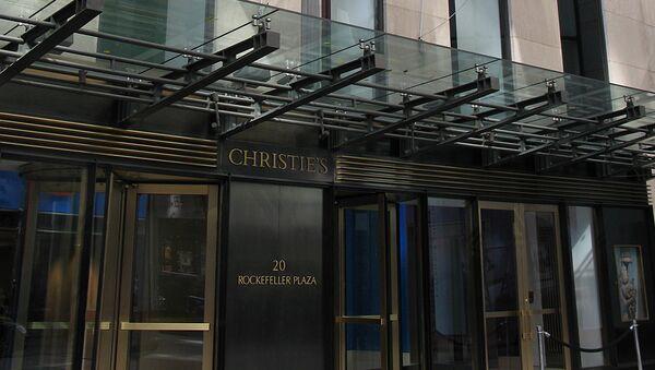 Las subastas Christie's en Nueva York. - Sputnik Mundo
