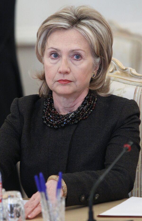 La secretaria de Estado de EEUU, Hillary Clinton - Sputnik Mundo