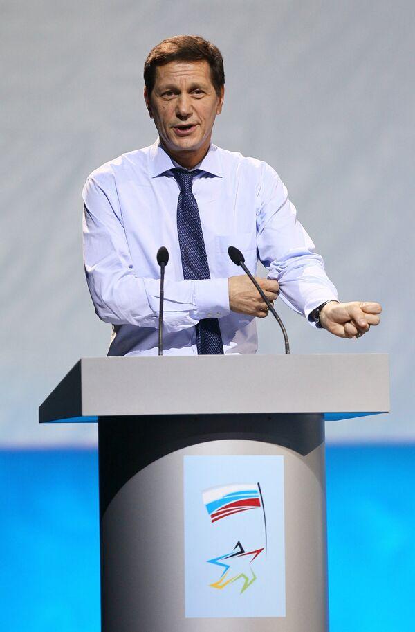 El presidente del Comité Olímpico Ruso y vicepresidente del Gobierno de Rusia, Alexandr Zhúkov - Sputnik Mundo