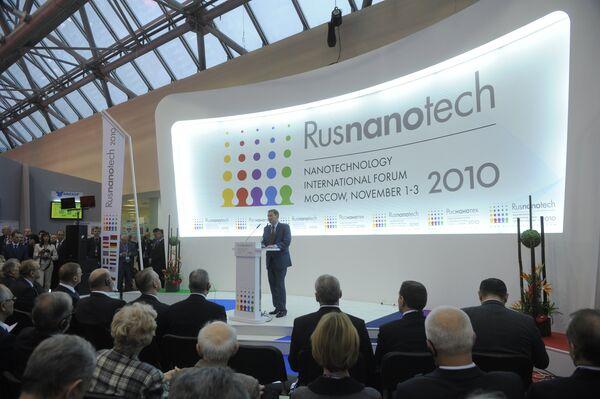 La tercera edición del Foro Internacional de Nanotecnología Rusnanotech-2010  - Sputnik Mundo