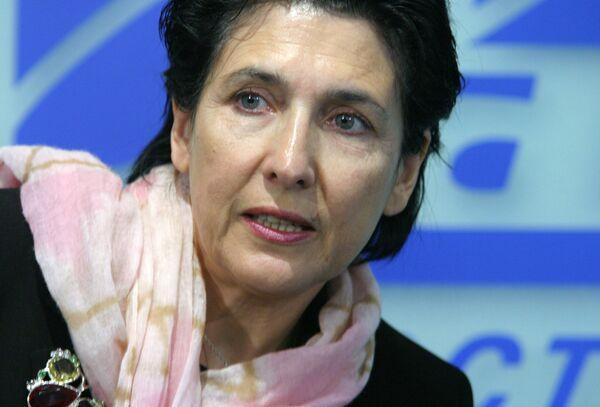 La ex ministra de Asuntos Exteriores de Georgia Salomé Zurabishvili - Sputnik Mundo
