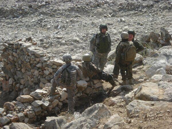 Operación  ruso-estadounidens contra  el narcotráfico en  Afganistàn - Sputnik Mundo