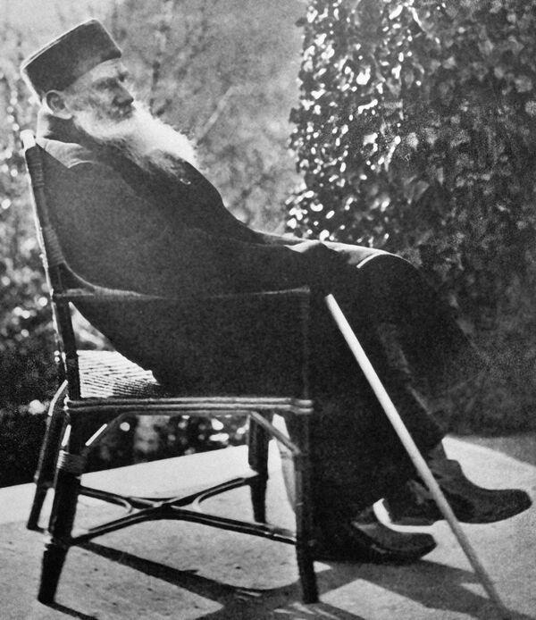 La vida y la muerte de León Tolstói. Fotos del archivo - Sputnik Mundo