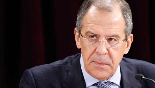 Ministro de Asuntos Exteriores de Rusia, Serguei Lavrov - Sputnik Mundo