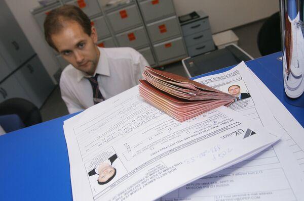 El total de visados que Rusia expidió en 2010 asciende a 2,8 millones - Sputnik Mundo