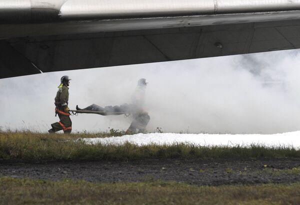 Al menos un muerto y diez heridos tras aterrizaje de emergencia de un avión de pasajeros en aeropuerto Domodédovo de Moscú. Archivo - Sputnik Mundo