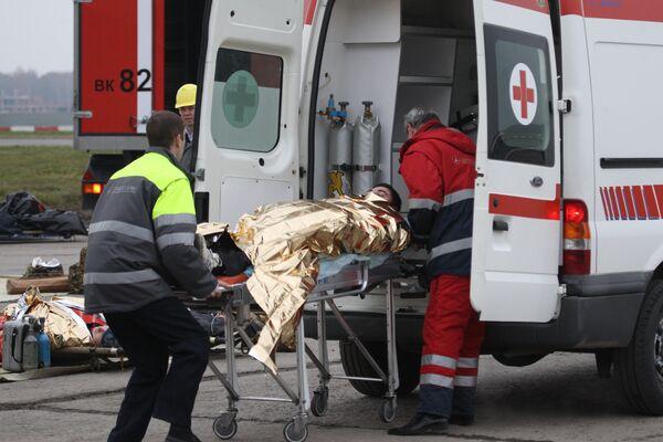 Reportan dos muertos y 48 heridos tras aterrizaje de emergencia del Tu-154 en Moscú. Archivo. - Sputnik Mundo