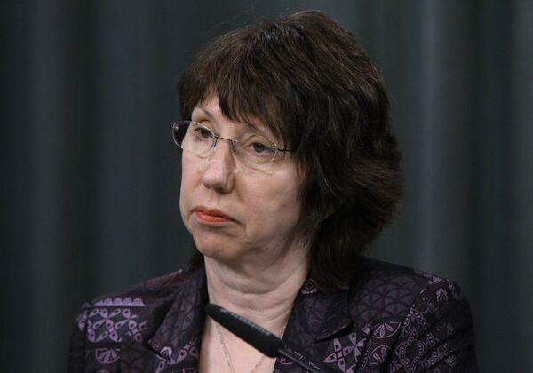 Catherine Ashton - Sputnik Mundo