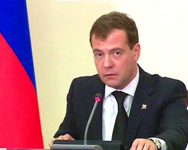 El presidente ruso, Dmitri Medvédev. - Sputnik Mundo