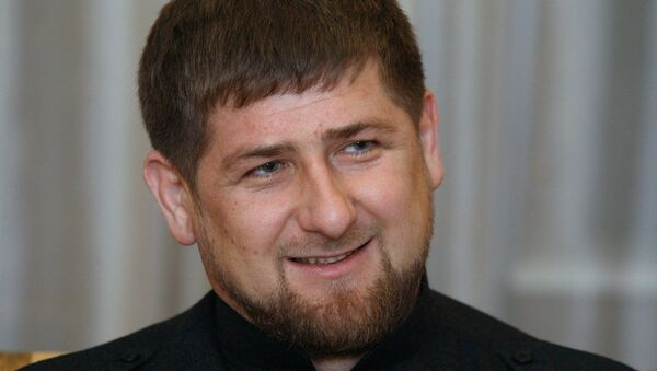 El presidente de la república rusa de Chechenia, Ramzán Kadírov - Sputnik Mundo