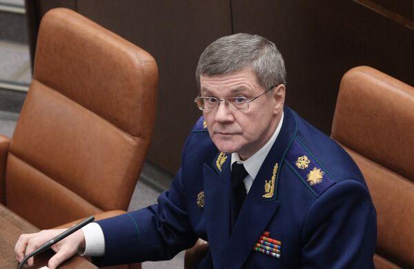Fiscal General ruso, Yuri Chaika - Sputnik Mundo