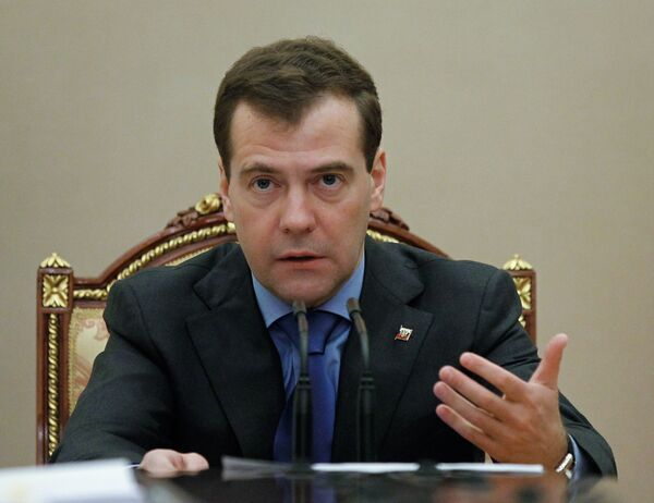 Dmitri Medvédev - Sputnik Mundo