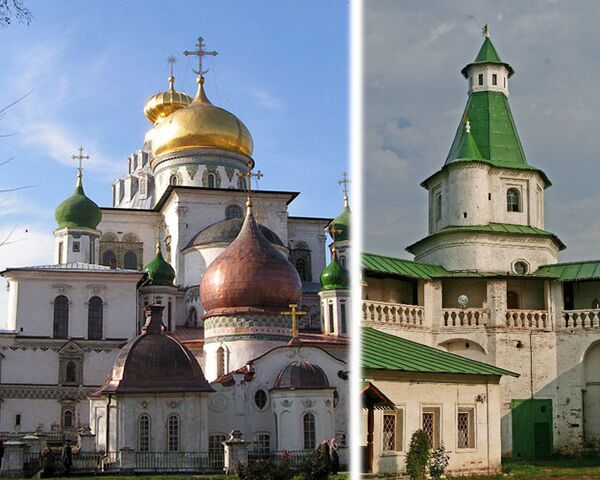 Monasterio de la Nueva Jerusalén cerca de Moscú recuperará su esplendor original - Sputnik Mundo