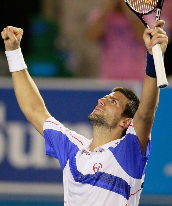 Novak Djokovic - Sputnik Mundo