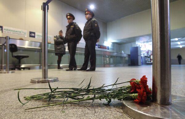 El aeropuerto Domodédovo de Moscú - Sputnik Mundo