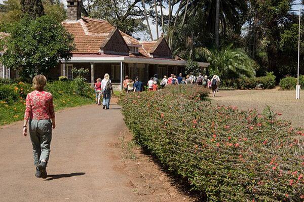 Los turistas en  Kenia - Sputnik Mundo