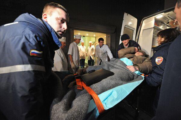 Un total de 117 personas se encuentran hospitalizadas tras el atentado en el aeropuerto Domodédovo - Sputnik Mundo