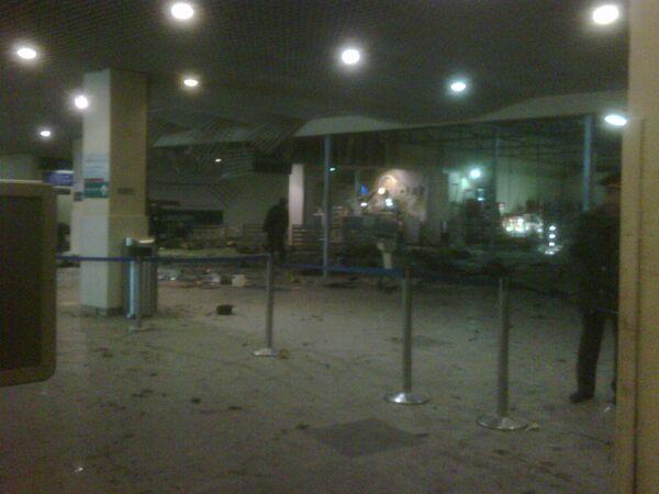 El atentado del 24 de diciembre en el aeropuerto Domodédovo de Moscú - Sputnik Mundo