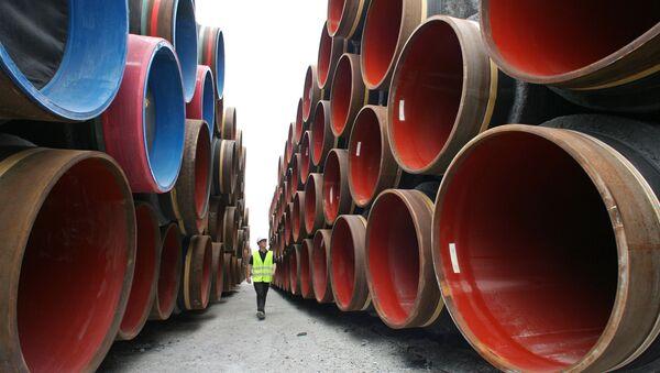 Construcción del gasoducto Nord Stream (archivo) - Sputnik Mundo