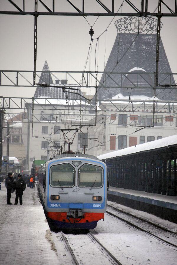 La estacione ferroviaria Yaroslavski - Sputnik Mundo