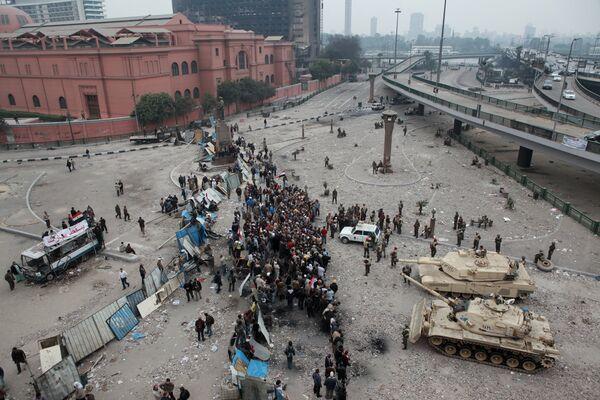 Las manifestaciones en Egipto - Sputnik Mundo